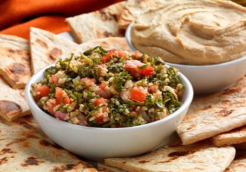 Fresh, heart-healthy Lebanese